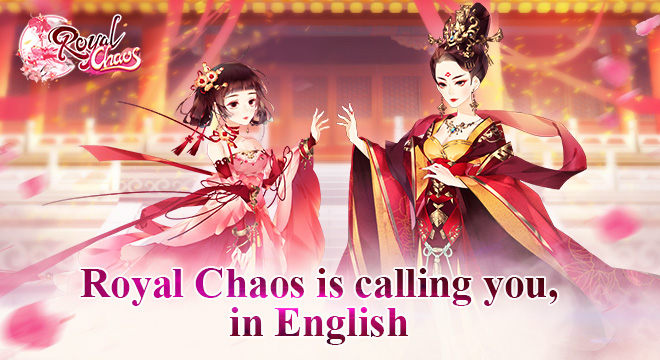 Royal Chaos is calling you, in English