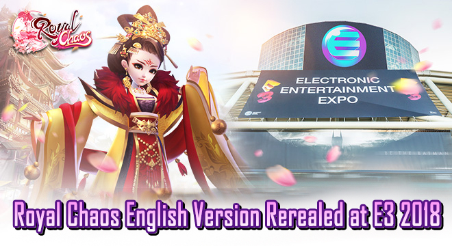 Royal Chaos English Version Revealed At E3 2018