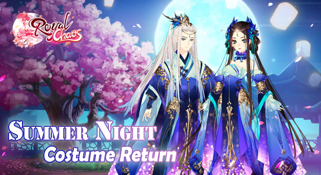 Summer Night Costume is Back