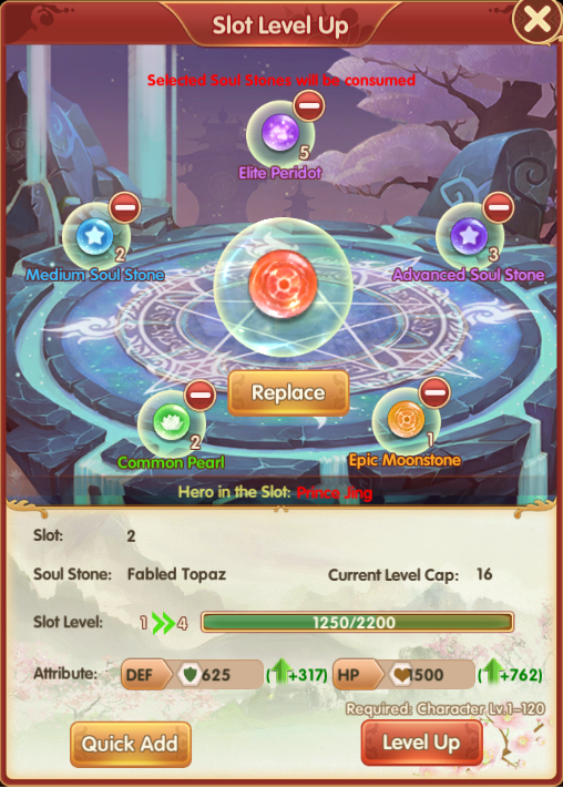 Royal Chaos - Array Guide: Fickle & Unexpected