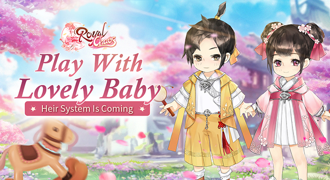 Play with Lovely Baby - Heir System Is Coming